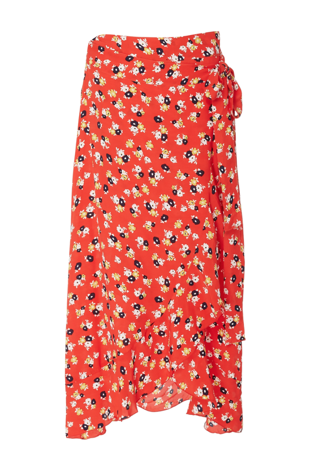 A Bright Floral Skirt Faithfull the Brand modaoperandi.com $150.00 SHOP IT All the clothes from Faithfull the Brand feel like they're made for that quintessential vacation 'gram, including this wrap skirt. It has a bright, poppy background hue and dotted florals, which make you stand out against palm trees and turquoise-colored water backdrops.