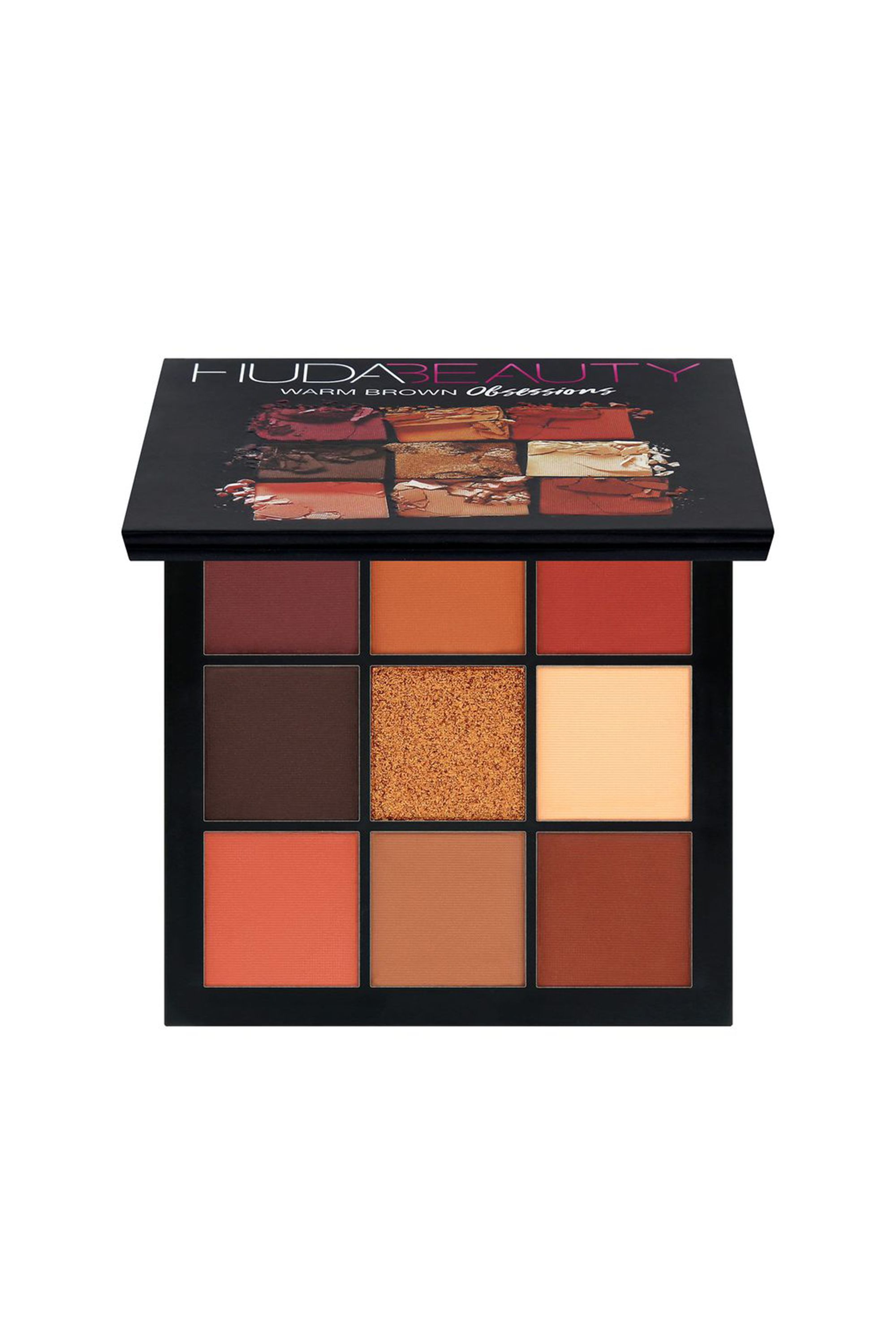 obsessions eyeshadow palette in warm brown