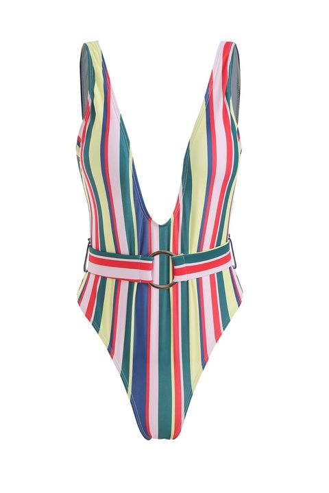 e2baa063c6d47 15 Best Belted Swimsuits for 2019 - Cutest One-Pieces & Bikinis With ...