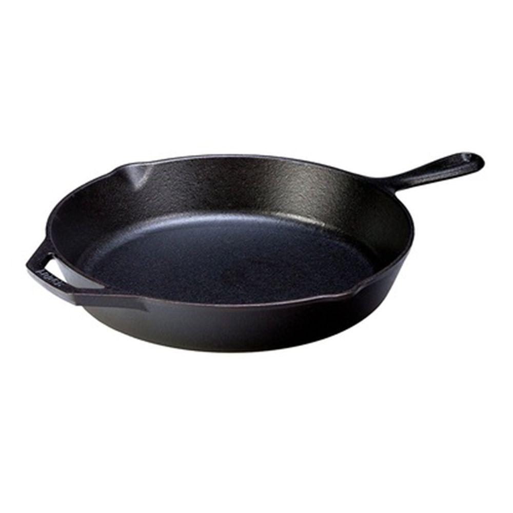 "Clearance Sale! Fancy Cook Lightweight Cast Iron Stir Fry 12"""