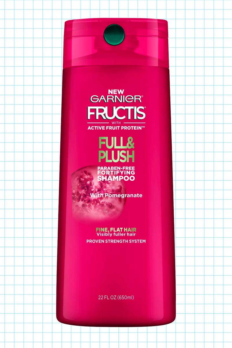 Garnier Fructis Full Plush Fortifying Shampoo And Conditioner