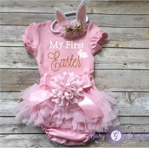 6a46d840f 30 Adorable First Easter Baby Outfits - Baby Easter Outfits for Boys ...