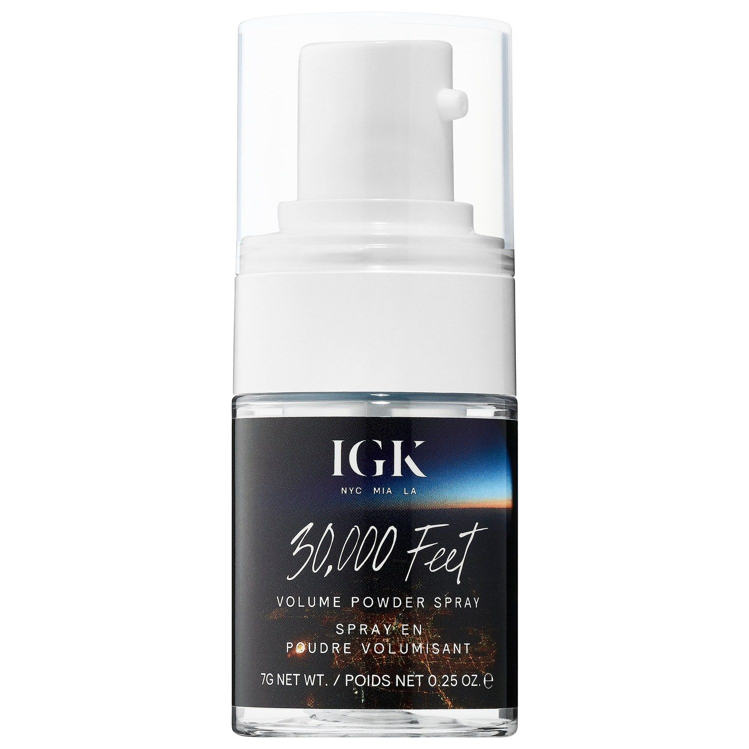IGK 30,000 Feet Volume Powder Spray sephora.com $32.00 SHOP NOW According to celeb hairstylist Cesar Ramirez , IGK's 30,000 Feet shampoo is the one to beat. Ramirez, who has worked with everyone from Kim Kardashian to Demi Lovato, likes it because the formula is really lightweight and works for all hair types.