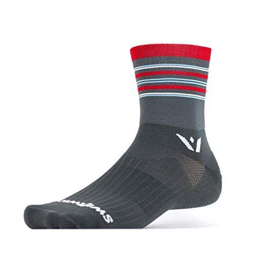 Black Sporting Goods Socks Aspiring More Mile The Oregon Trail Womens Running Socks