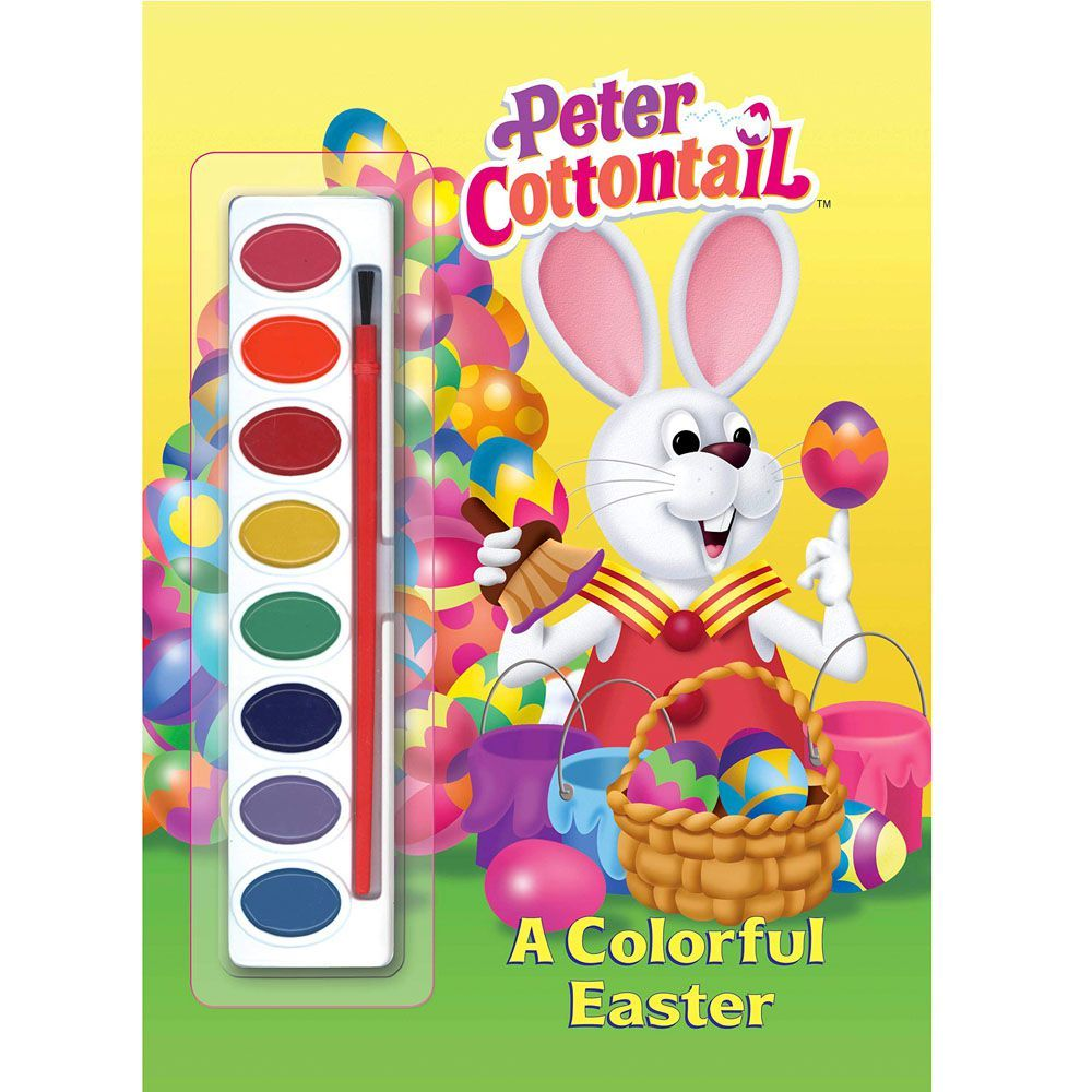 Peter Cottontail A Colorful Easter