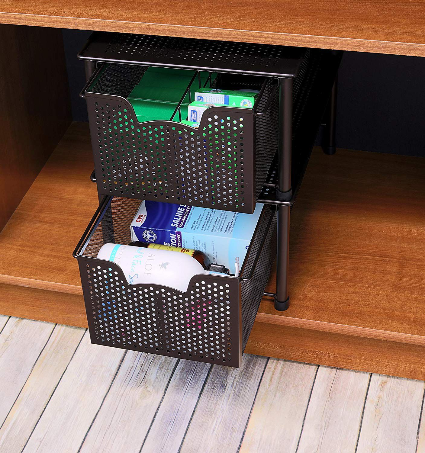 Stackable Sliding Drawers