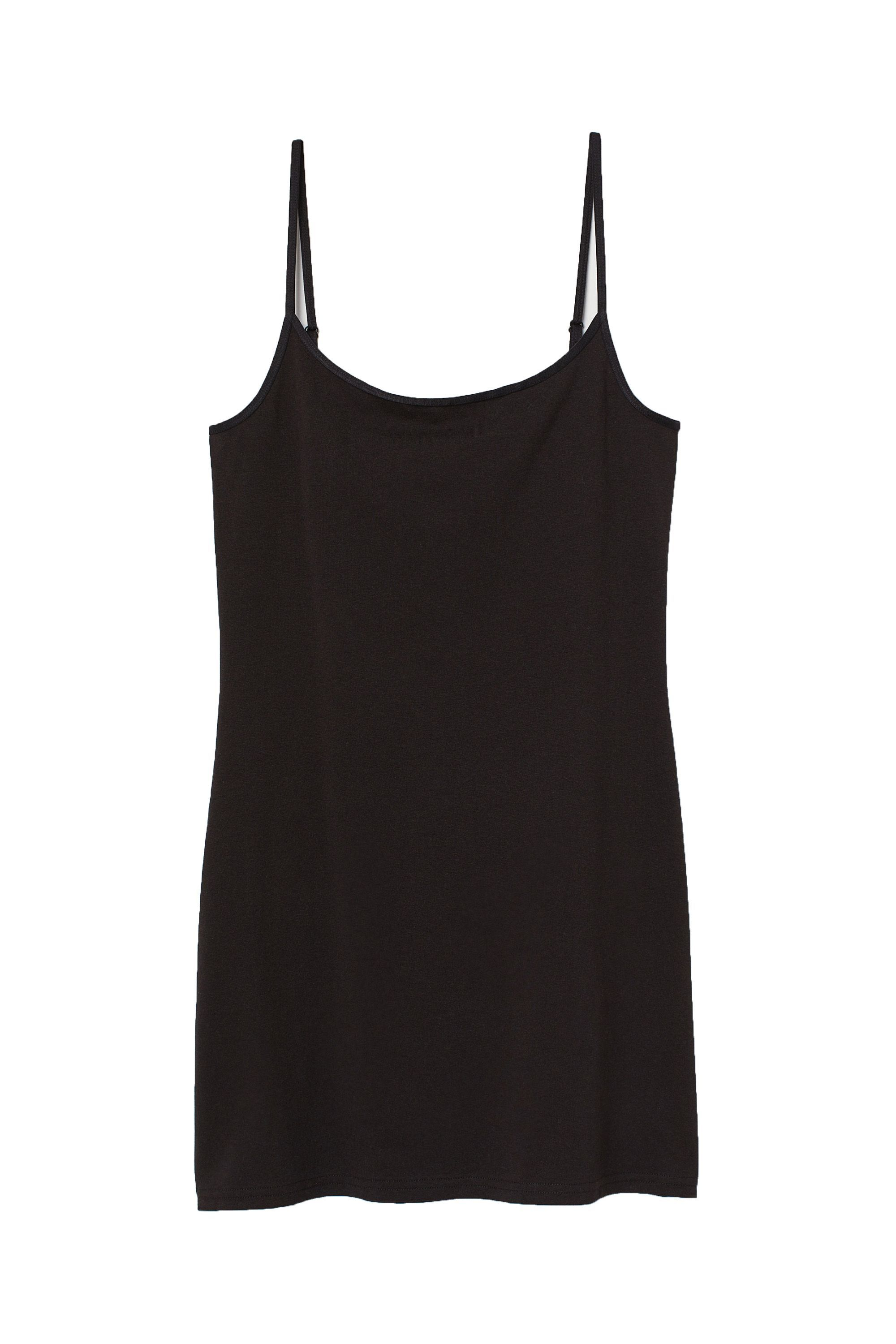 All Lace Camisole Tank Top Women/'s Blouse Long Lean Stretch Sheer Shirt Black