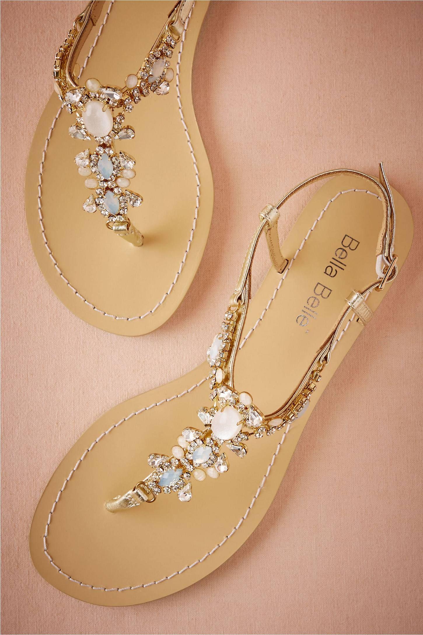 1791fe69b 24 Chic Beach Wedding Shoes
