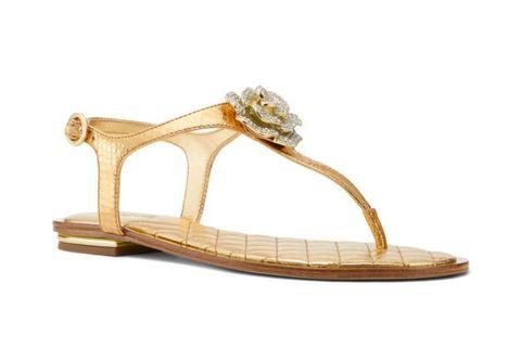 74c614afcaf Lucia Crystal Flower Thong Sandals