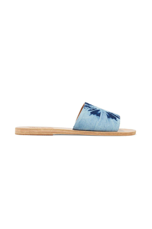 Color-block Leather Slides Ancient Greek Sandals theoutnet.com $55.00 SHOP IT