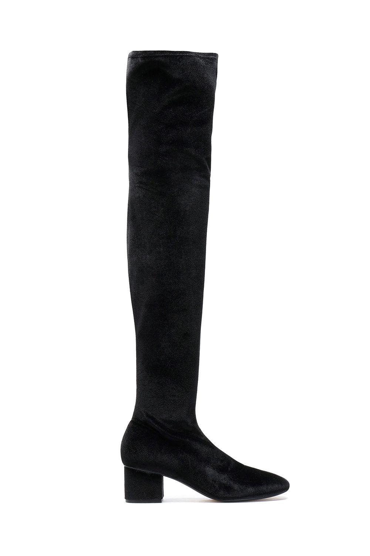 Velvet Over-the-Knee Boots Sigerson Morrison theoutnet.com $174.00 SHOP IT