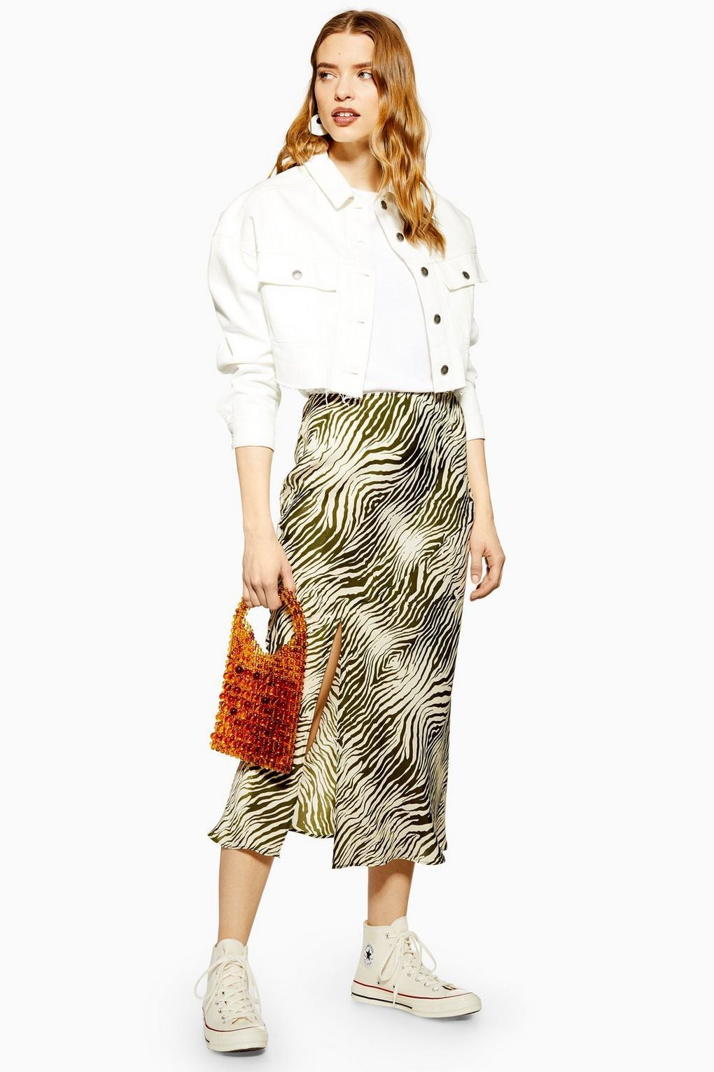 c44034a55 Topshop satin midi skirt: New drop of sell-out Topshop skirts