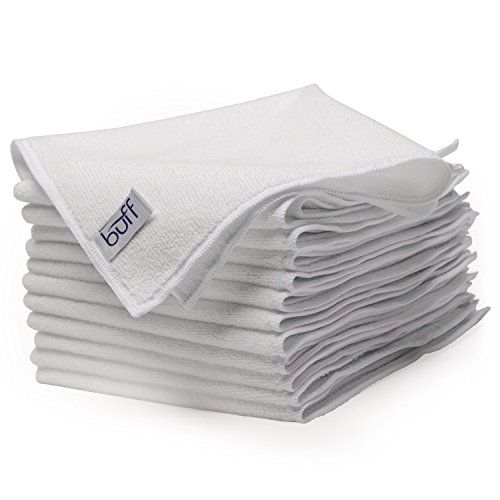 c712fff4226 White Microfiber Cleaning Cloths