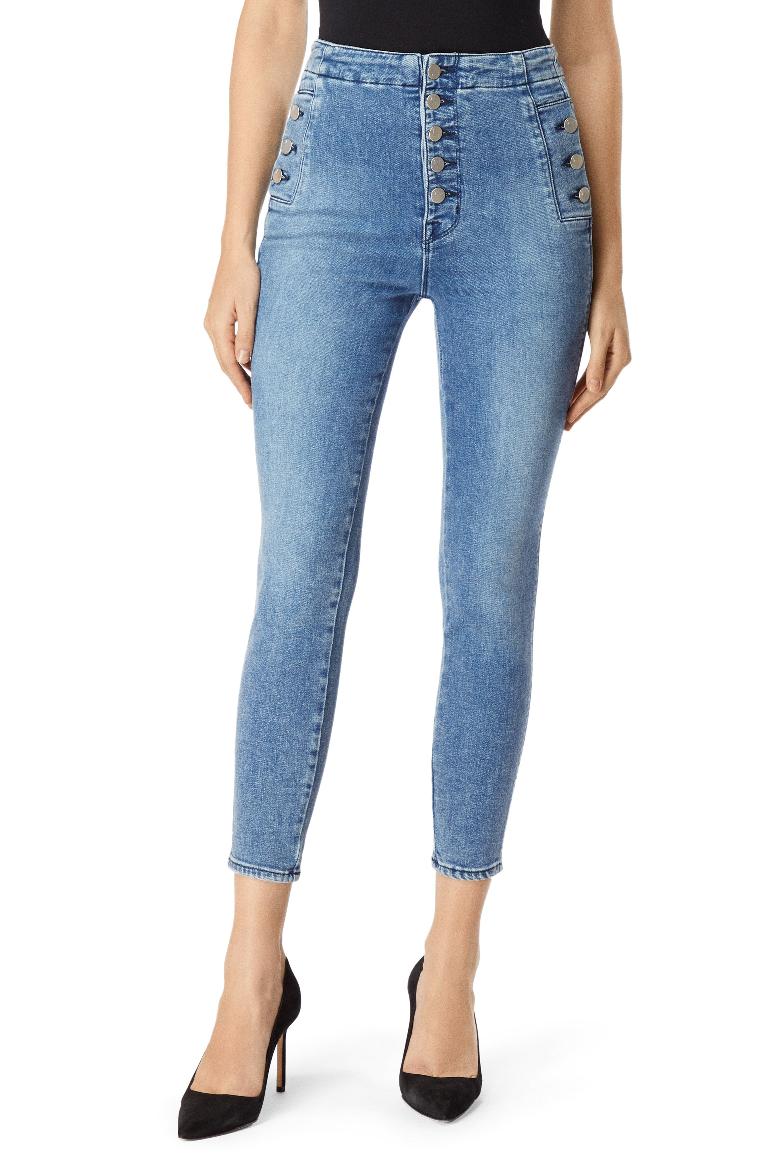 8d8ff0d8d31a8 12 Best High-Waisted Jeans for Women