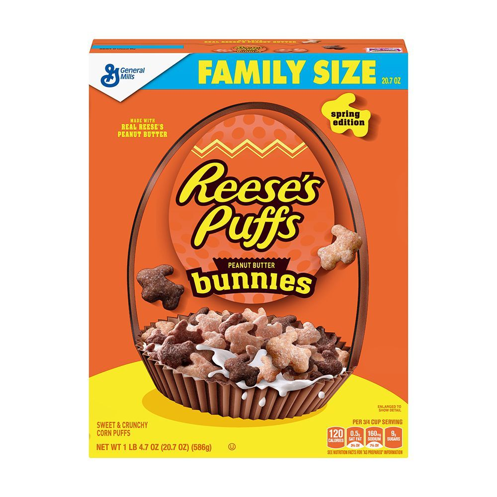 Reese's Puffs Bunnies Is The Adorable Cereal That's Back