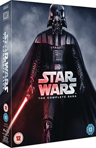 Star Wars - The Complete Saga (Episode I-VI) [Blu-ray] [1977] [Region Free]