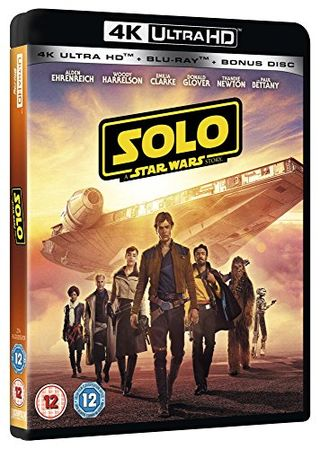 Single: A Star Wars story [4K] [Blu-ray] [2018] [Region Free]