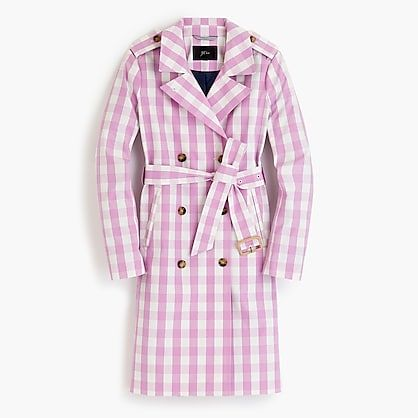 Icon Trench J.Crew jcrew.com $298.00 SHOP NOW She's going to want all of J.Crew's new, gingham collection.