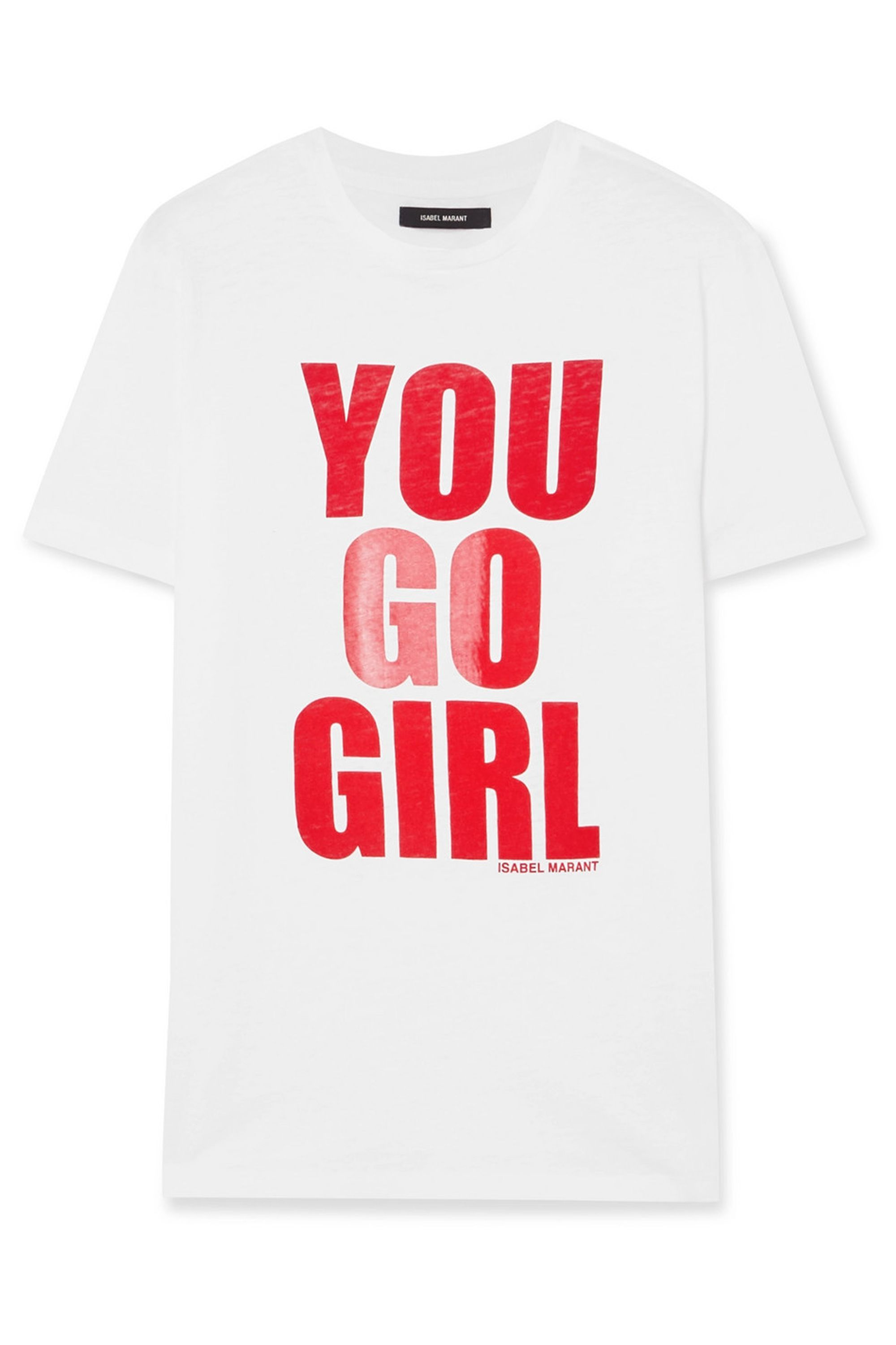 International Women's Day printed cotton-jersey T-shirt Isabel Marant net-a-porter.com $140.00 SHOP NOW She's your biggest supporter, and you, hers. This shirt supports International Women's Day, with proceeds going to Women for Women International , a non-profit that supports marginalized women in countries affected by conflict and war.