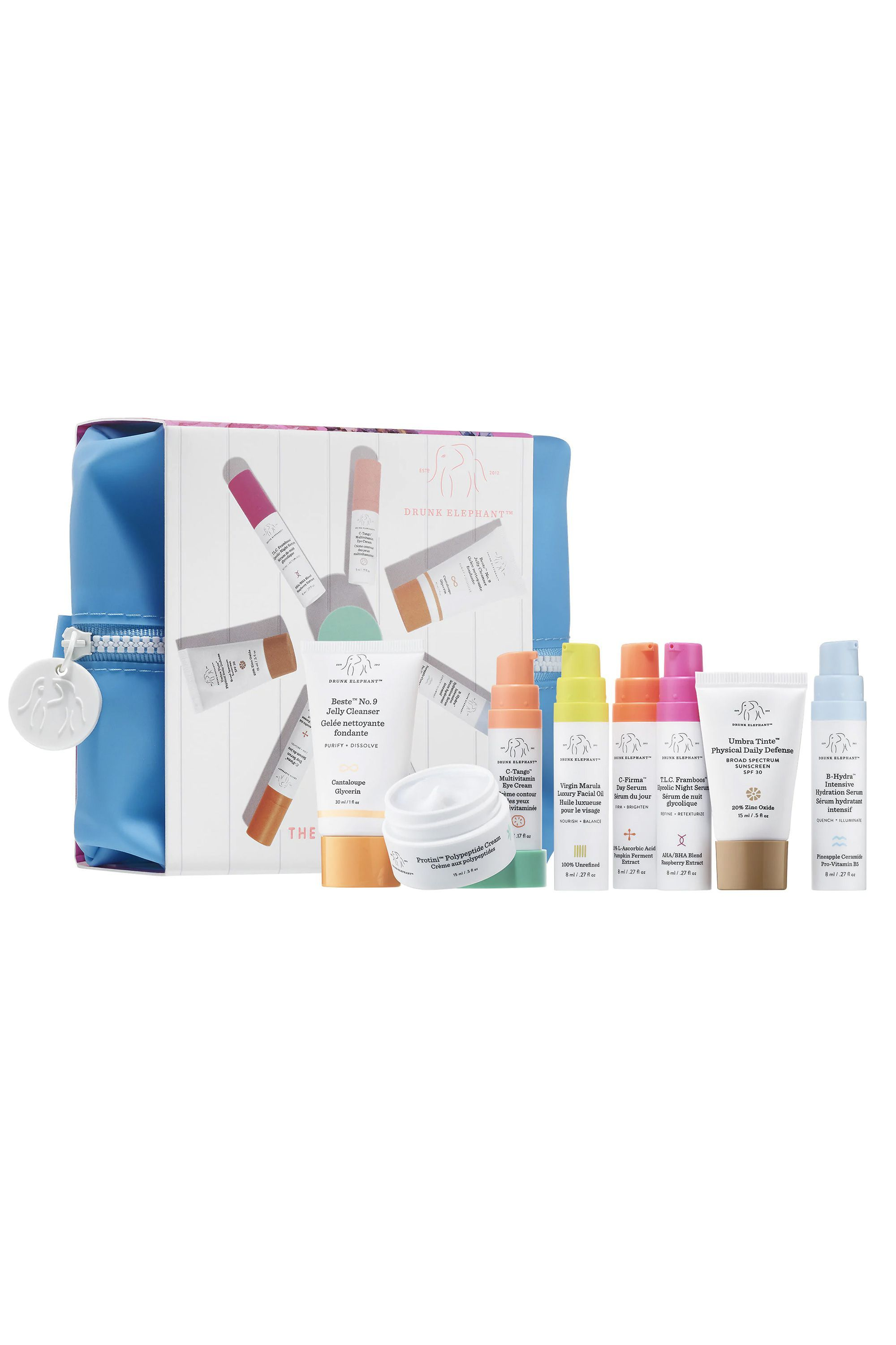 The Littles Drunk Elephant sephora.com $90.00 SHOP NOW This skin kit has all of Drunk Elephant's cult-favorite products for her to test out.