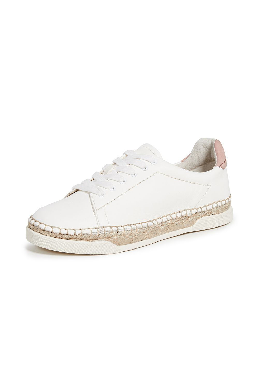 Madox Lace Up Espadrilles Dolce Vita shopbop.com $120.00 SHOP IT For sneakers that work for summer, I present to you these espadrilles. The esparto rope gives this leather shoe a casual and laidback vibe, whether you wear this on the street or to the beach.