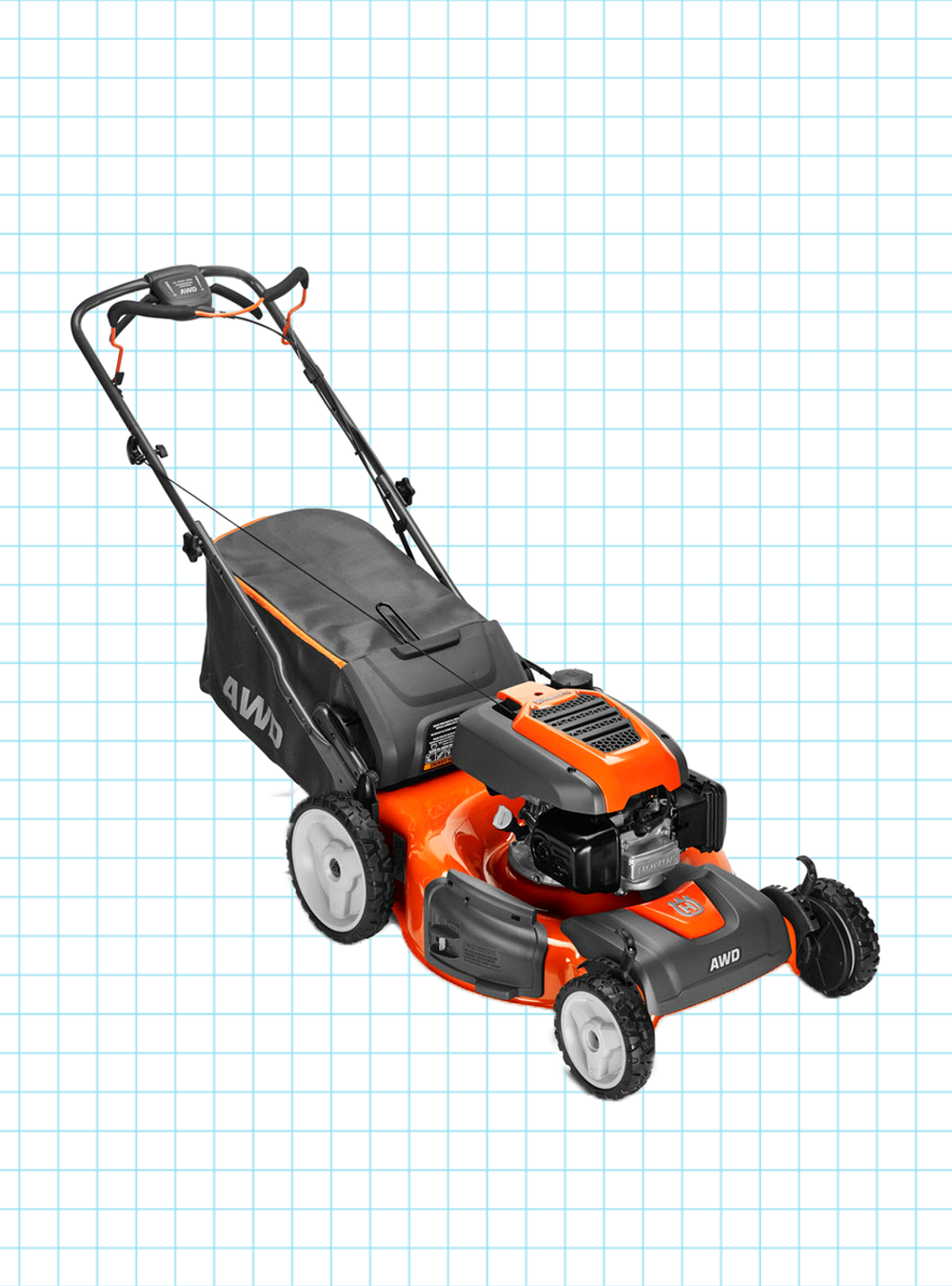 Husqvarna Hu800awdh Self Propelled Gas Lawn Mower With Honda Engine