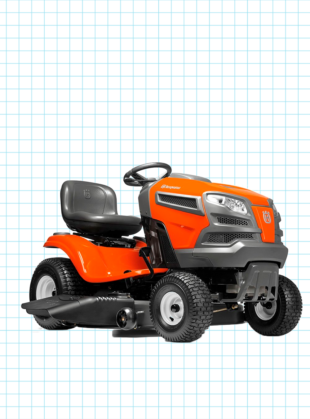 Lawn Mower Tractor >> Husqvarna Yth21k46 21 Hp Hydrostatic 46 In Riding Lawn Mower