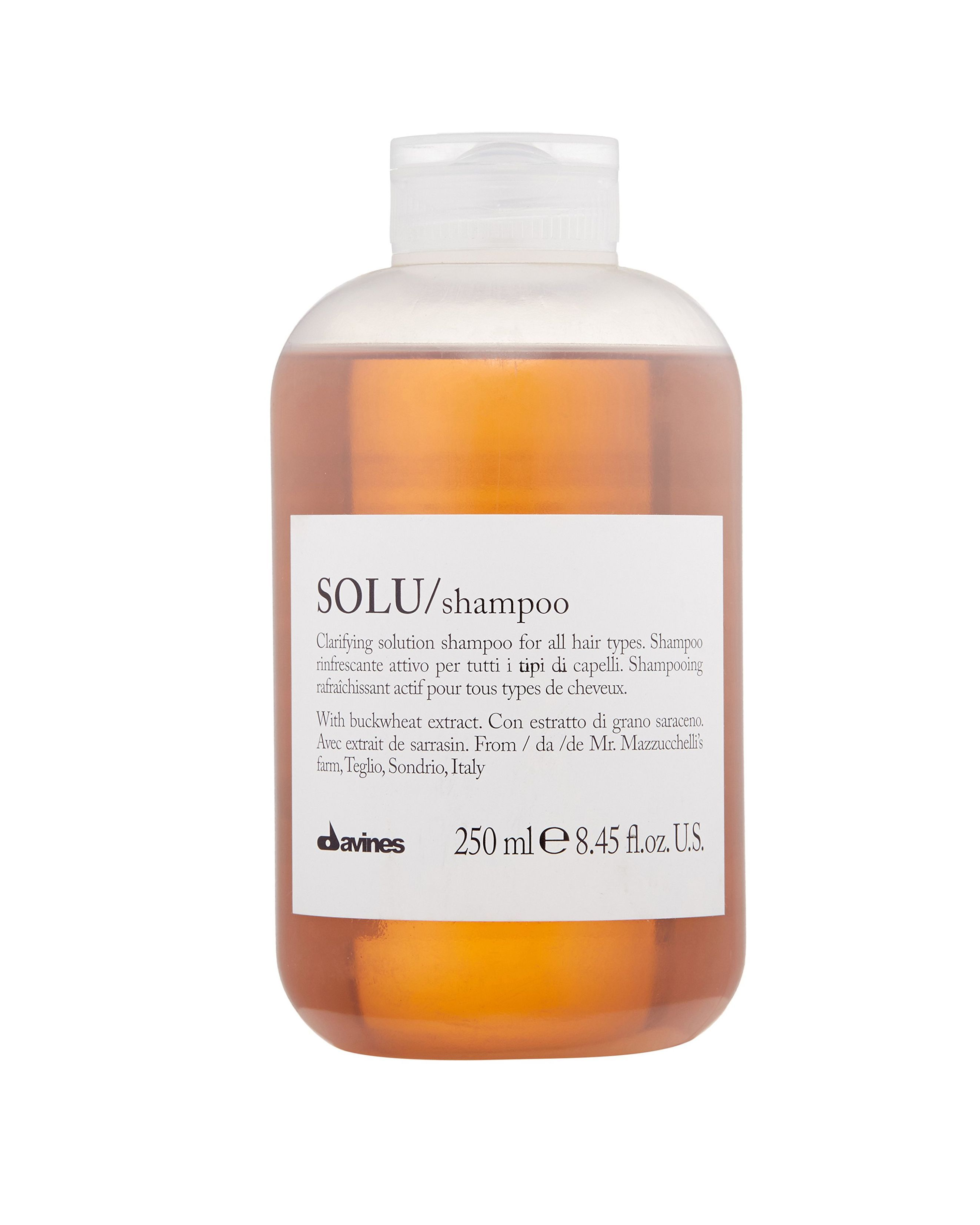 """Davines Solu Shampoo amazon.com $28.00 SHOP NOW Scott King , who has worked with Rashida Jones and Ashley Tisdale, emphasizes the importance of looking for shampoos that are sulfate-free. King recommends the Davines Solo Clarifying Shampoo, which he says """"really gets hair clean, especially if you are making a blow dry last or only washing your hair once or twice a week."""""""