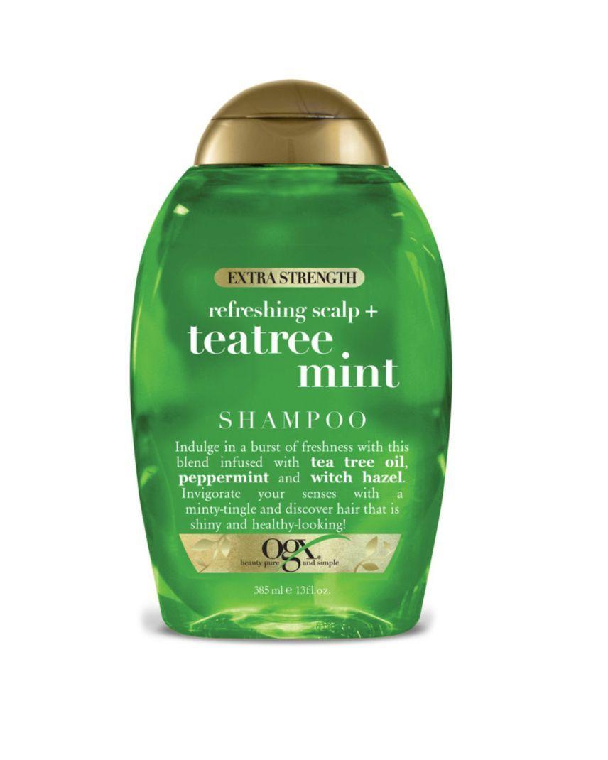 OGX Extra Strength Tea Tree Mint Shampoo ulta.com $8.99 SHOP NOW Tea tree oil is your friend. This OGX Extra Strength Tea Tree Mint Shampoo will reinvigorate your strands.