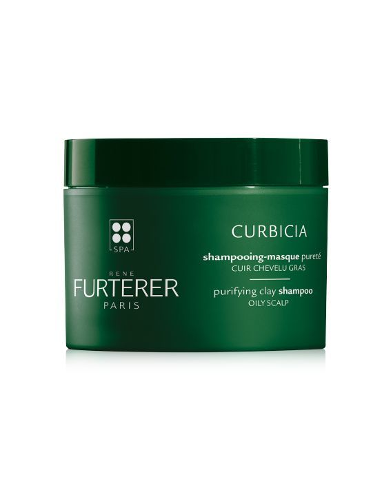 Rene Furterer Curbicia Purifying Clay Shampoo renefurtererusa.com $32.00 SHOP NOW Michelle Monaghan and Sabrina Carpenter's hairstylist Torsten Witte recommends this heavy duty shampoo-mask combo. Formulated specifically for oily scalps, this shampoo contains contains curbicia extract, as well as Rhassoul clay and and a blend of essential oils.