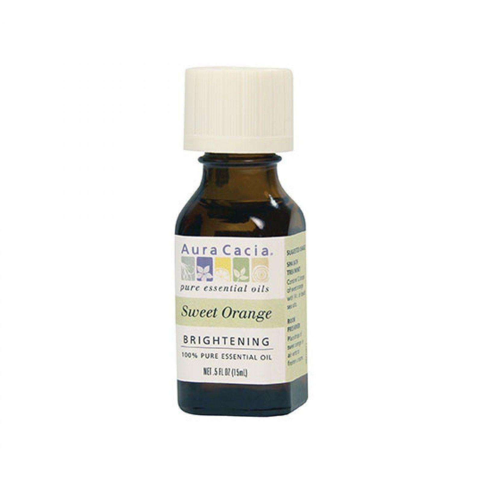 Aura Cacia Sweet Orange Essential Oil 0 5 fl  oz