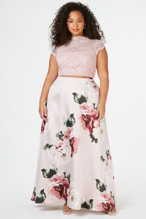 Best Two Piece Prom Dresses of 2019 – Stylish Crop Top Prom Dresses