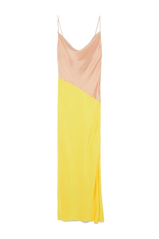 Block Color Slip Dress Zara zara.com $49.90 SHOP IT