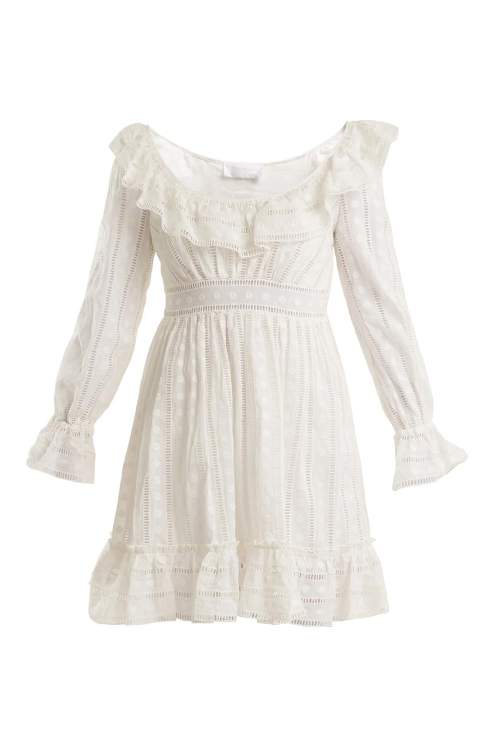 Melody Ladder-Lace Dress Zimmermann matchesfashion.com $397.00 SHOP IT
