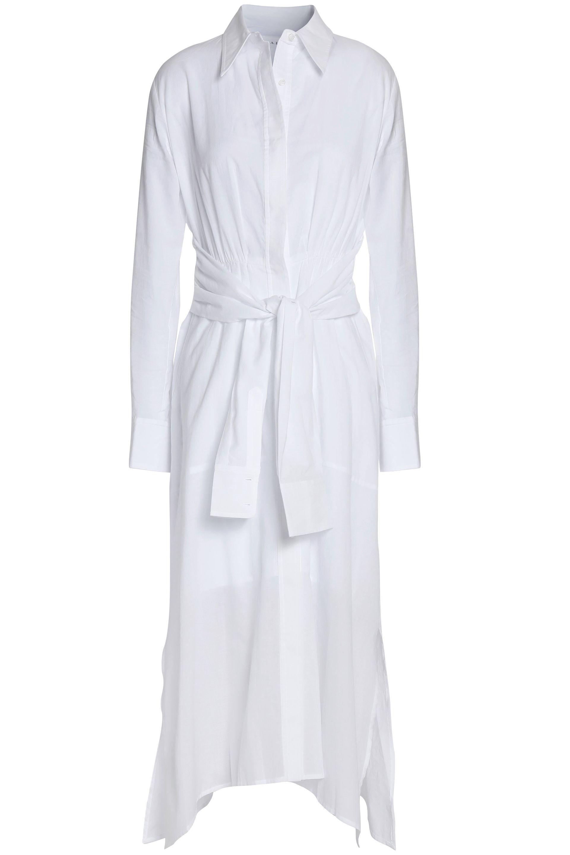 Asymmetric Mousseline-Cotton Midi Dress A.L.C. theoutnet.com $237.00 SHOP IT