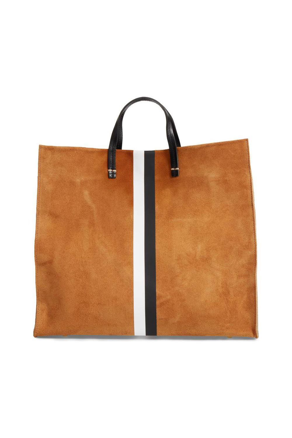 A Not-So-Basic Suede Shopper Clare V. Nordstrom $495.00 SHOP IT If this camel handbag isn't convincing you to swap out your tote for a luxe shopper-style, nothing will.