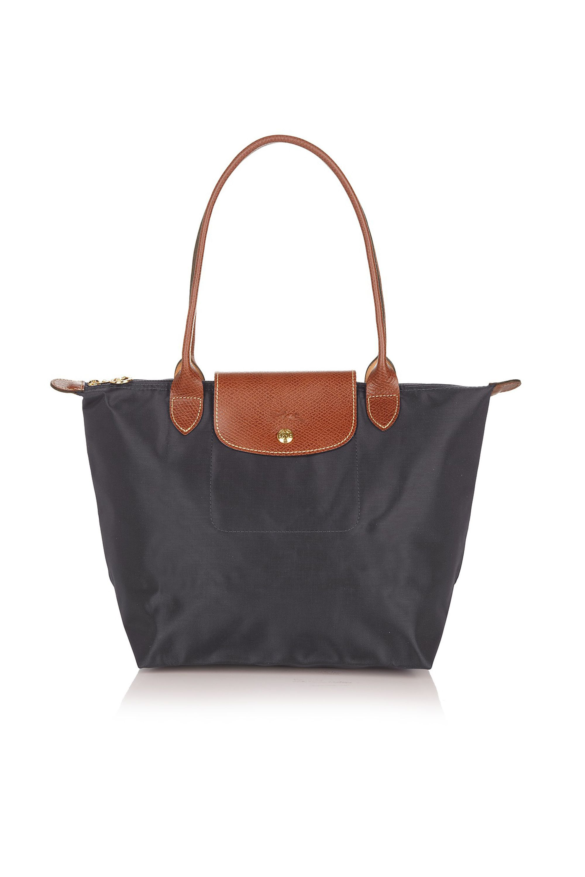 A No-Frills Shoulder Bag Longchamp Bloomingdales $125.00 SHOP IT It may just be a newer version of the one you've had since high school, but that doesn't mean it's not grown-up enough to be your polished everyday bag.