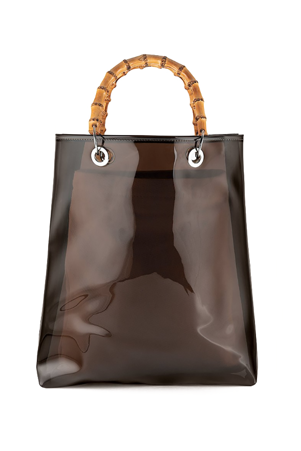 A Little Staycation Genuine People $220.00 SHOP IT Don't wait to use your vacation days to whip this baby out. For something a little different, Genuine People's clear tote with bamboo handles will let your co-workers know you have great taste and you're all about that work-life balance.