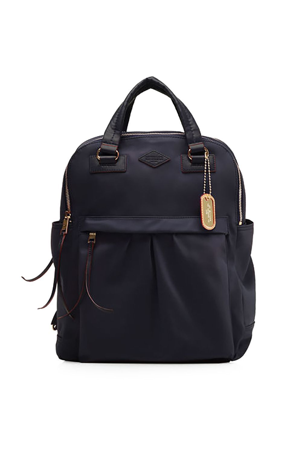 A Masseuse-Approved Knapsack MZ Wallace $385.00 SHOP IT Hassle-free commutes call for a cute knapsack like this MZ Wallace pick equipped with a padded laptop compartment and two handles to carry it into meetings. Genius.