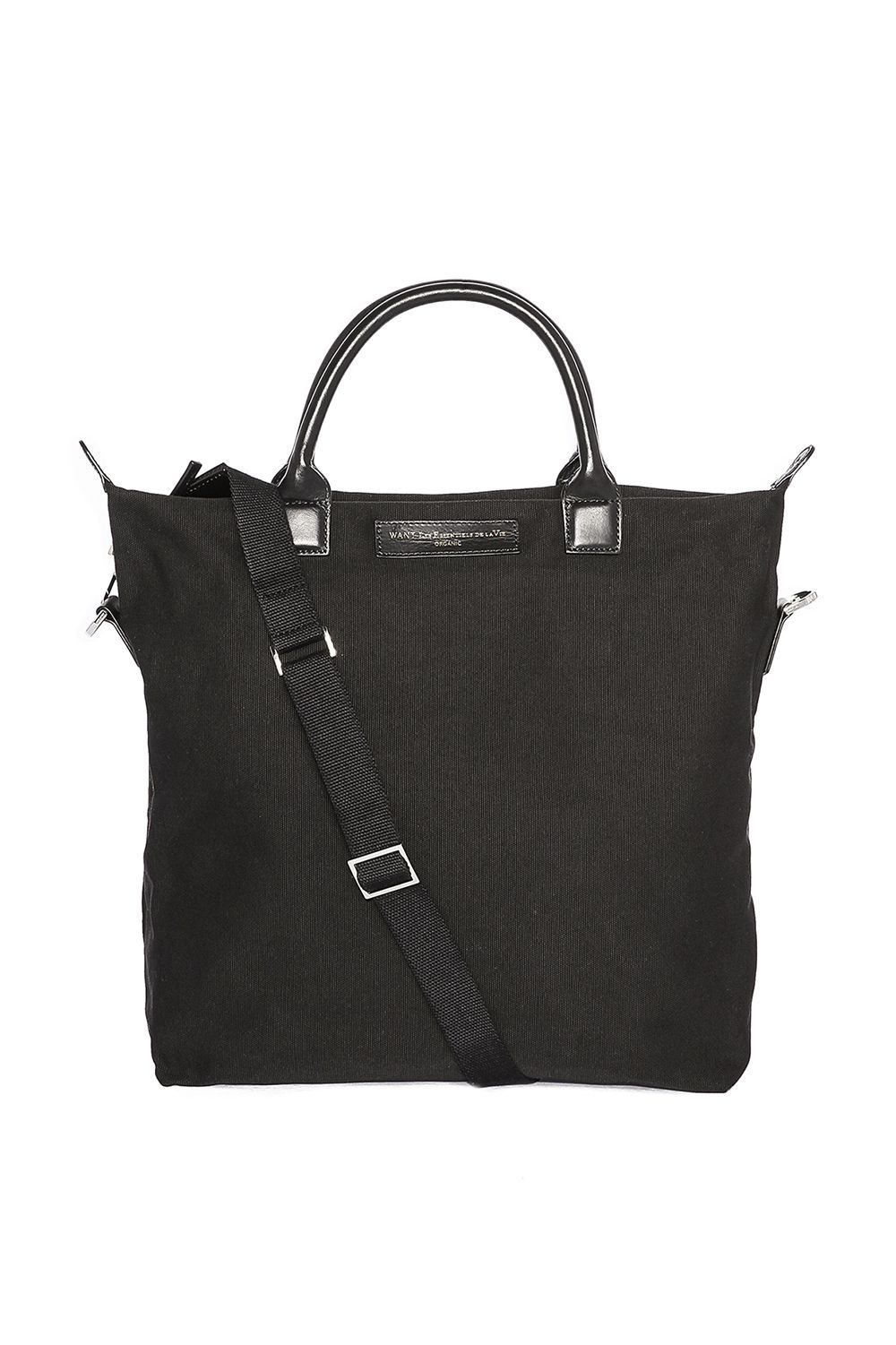 Canvas, But Make It Professional WANT Les Essentiels Shopbop $250.00 SHOP IT Canvas isn't only made for the weekends. This shopper tote with leather handles is durable enough to wear everyday without feeling like you're wearing it out.