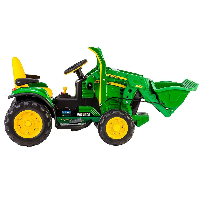 John Deere Ride On Toys >> John Deere Ground Loader Ride On