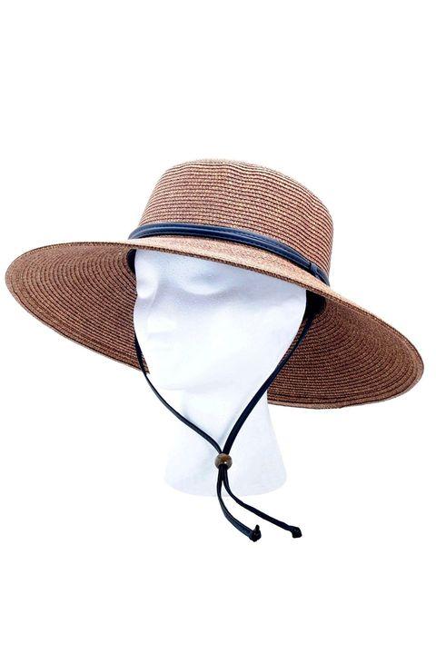 0754e9616 25 Best Sun Hats for Summer 2019 - Floppy, Woven Straw, More