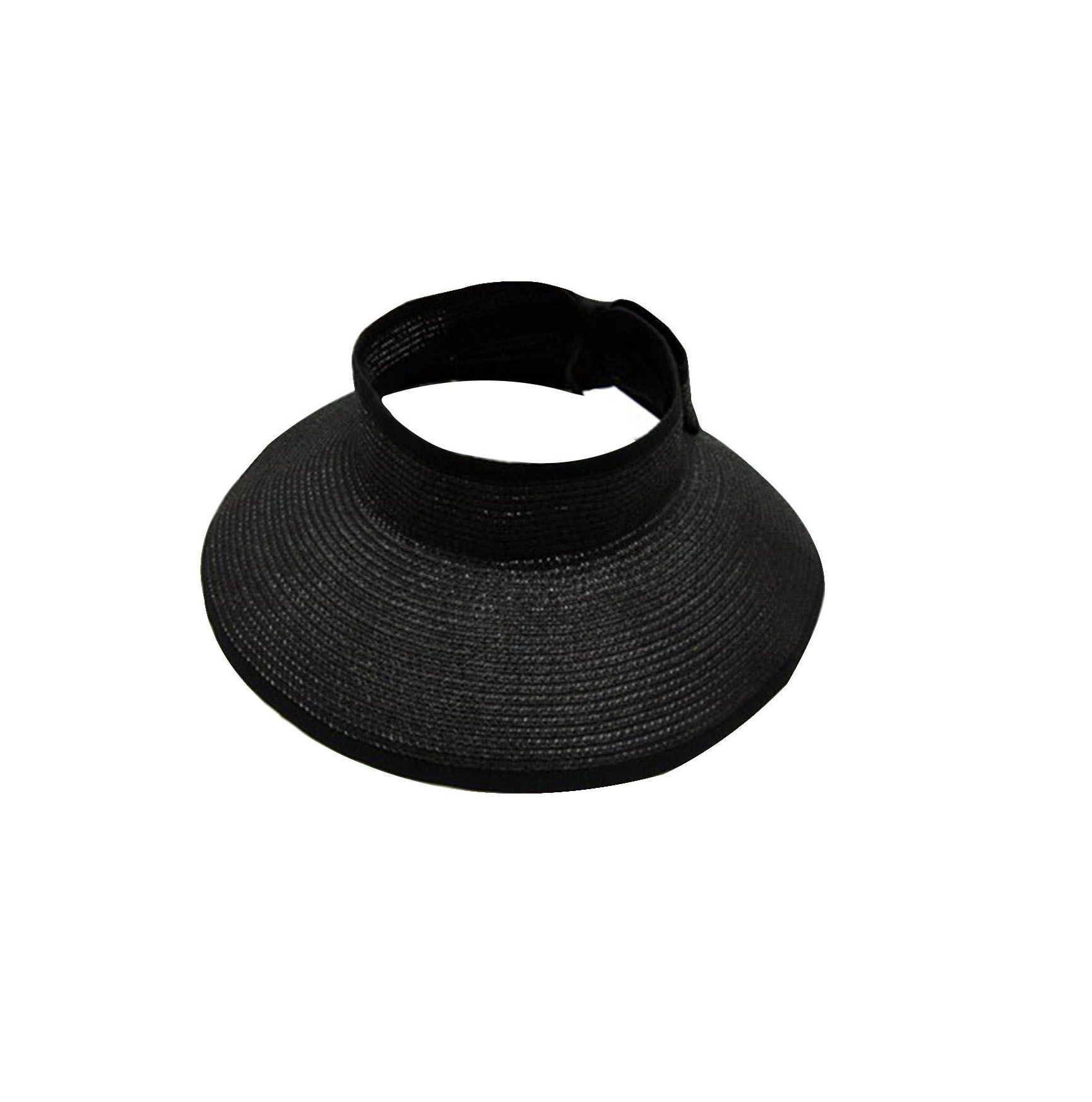 Foldable Straw Sun Visor
