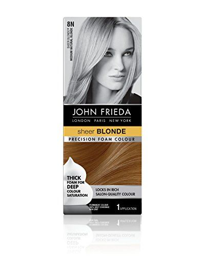 Blonde temporary hair color