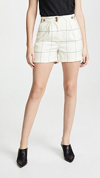 Sydney Checked Trouser Shorts ei8htdreams shopbop.com $235.00 SHOP IT
