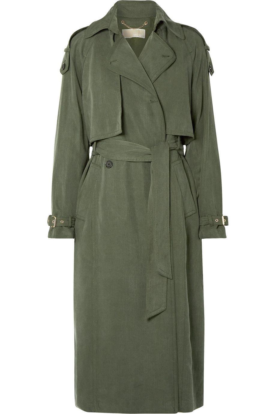 Lyocell Trench Coat
