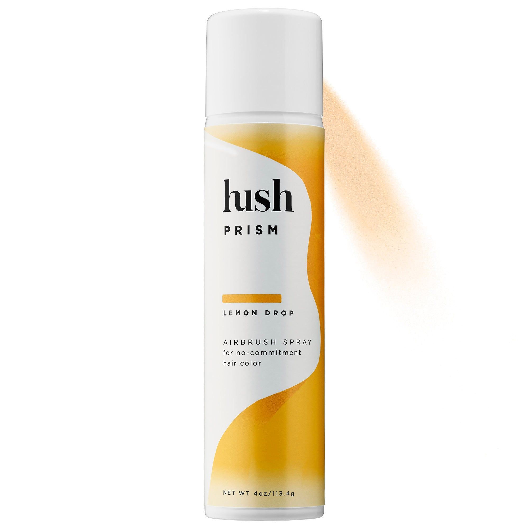 Hush Prism Airbrush Spray sephora.com $24.00 SHOP NOW The Hush Prism Airbrush Sprays come in a variety of seven pretty colors. They're also completely buildable so that you can work up to the level of color you're envisioning.