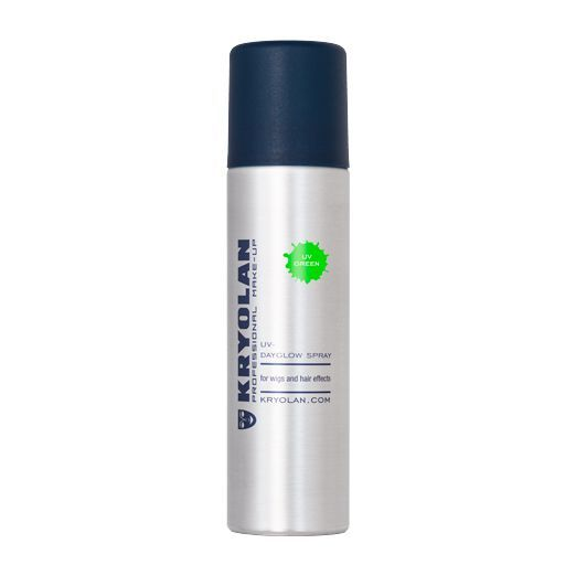 Kryolan UV Dayglow Spray us.kryolan.com $9.95 SHOP NOW This might be the most perfect festival spray out there. It comes in six bright colors, and glows under black lights!