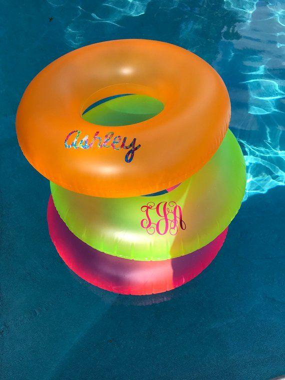 Flamingo Float Personalized Drink Float Personalize Pool Float Ring Float Custom Float Pool Party Float Monogrammed Drink Holder Float