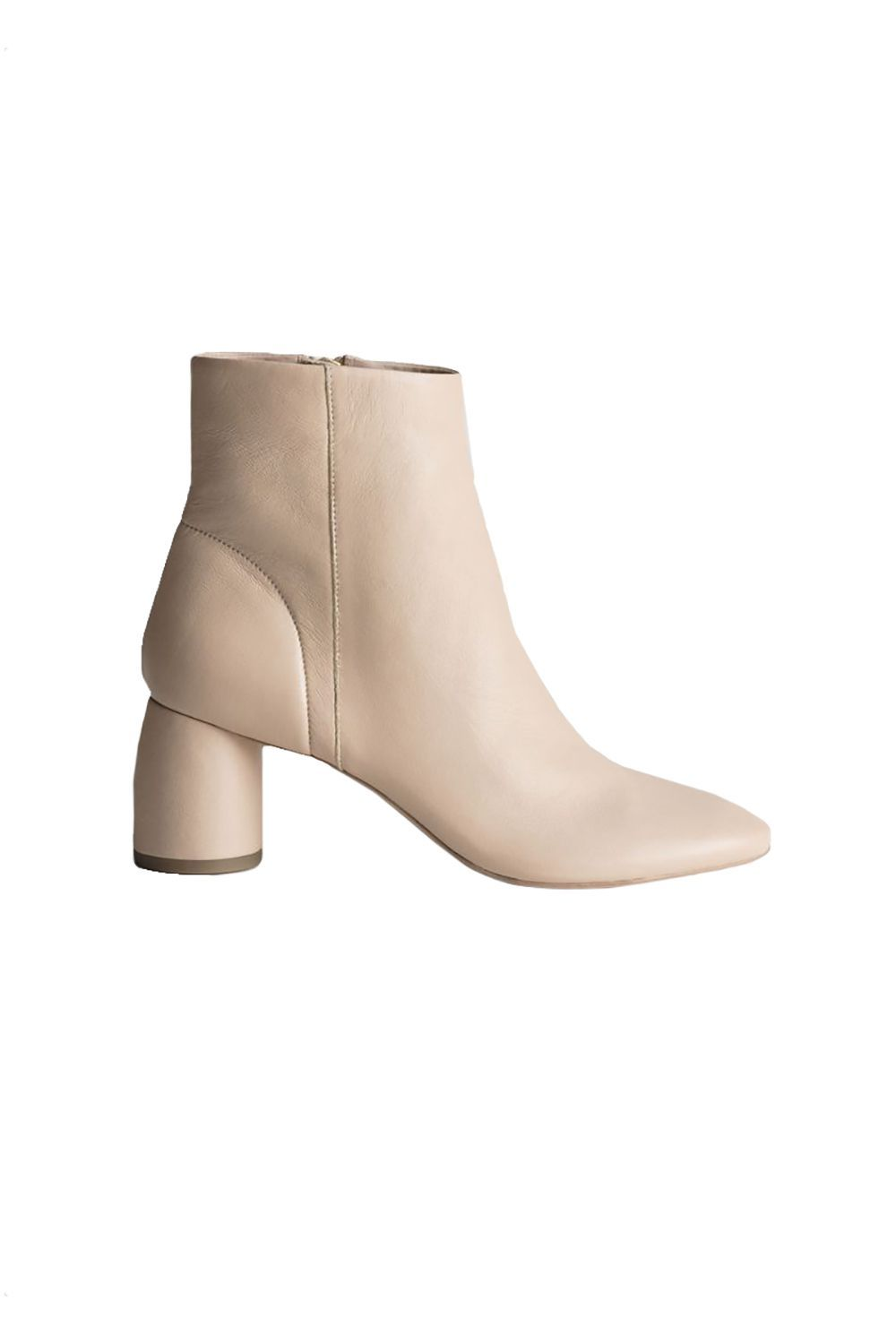 Beige Booties & Other Stories stories.com $179.00 SHOP IT Add something clean and minimal to balance out this season's animal print and logo-mania trends. Nimble and versatile, these two-inch boots from & Other Stories have a neutral palette and modern feel that looks good with a floral dress.